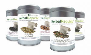 Herbal Republic tea kit (tin)