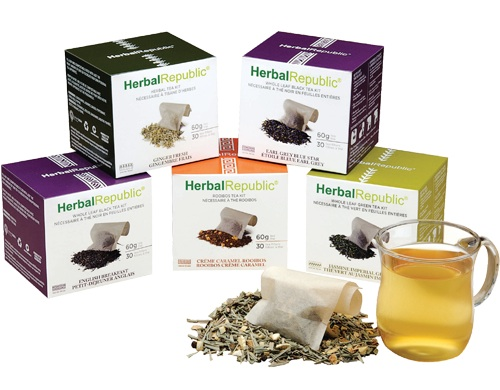 Herbal Republic tea kit